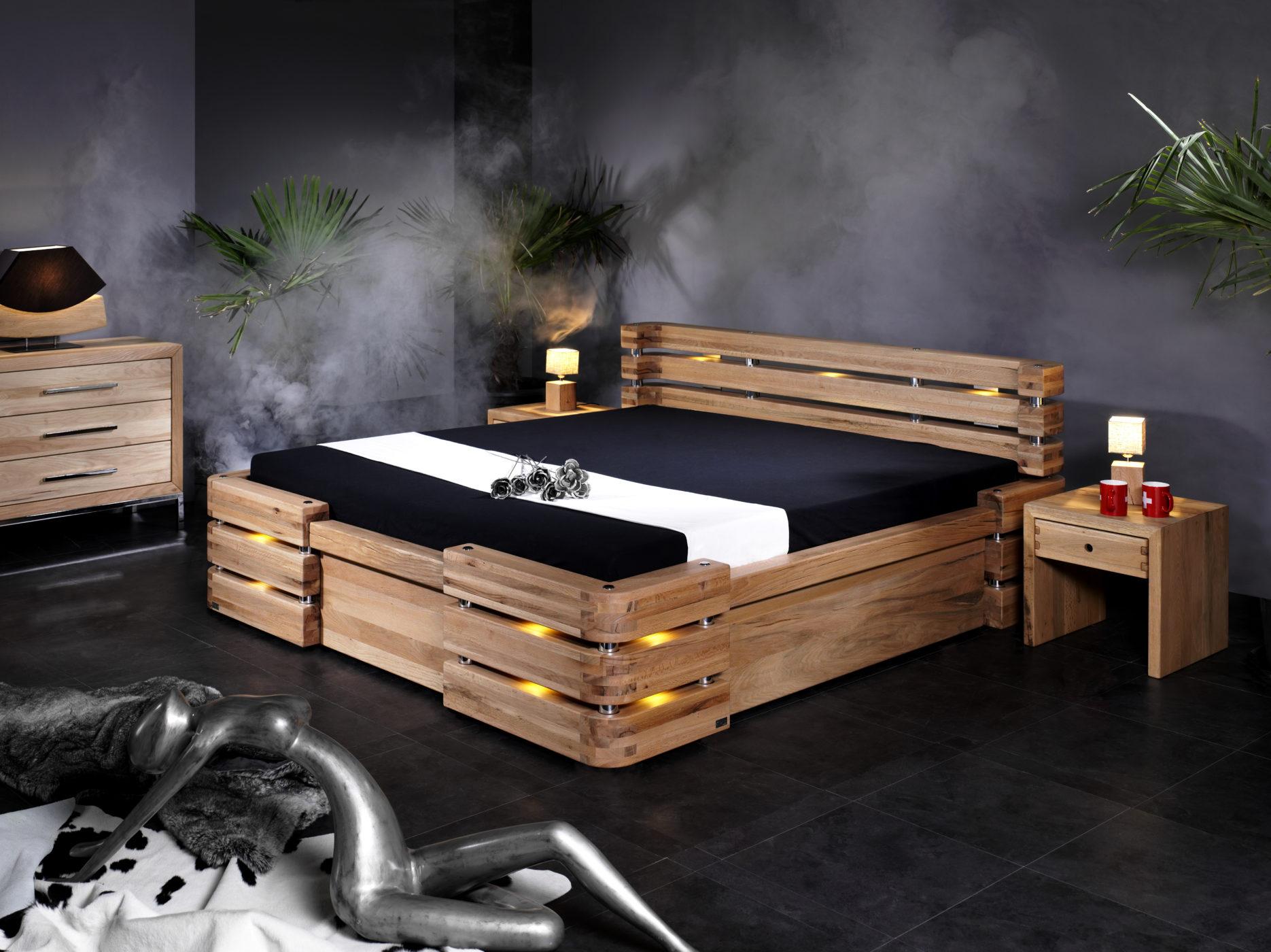 Bett Montana Sumpfeiche Sprenger Möbel