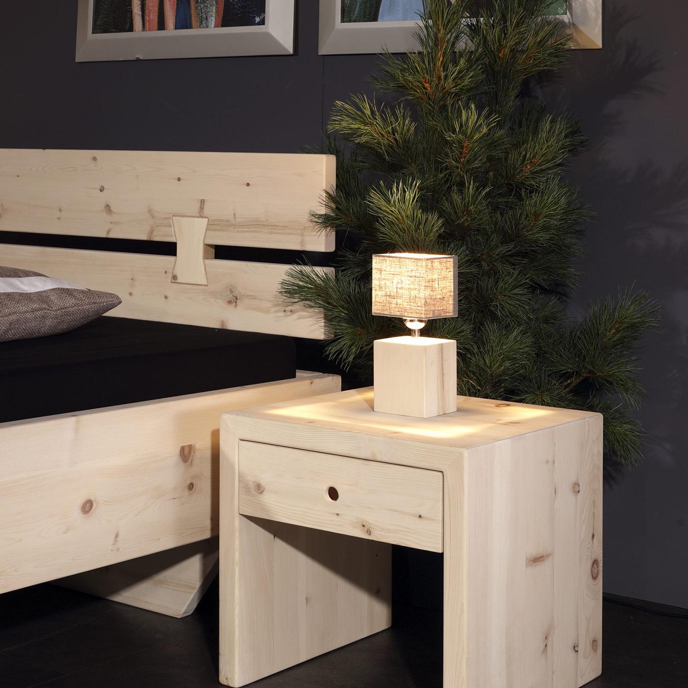 bett rosenheim arve zirbe sprenger m bel. Black Bedroom Furniture Sets. Home Design Ideas