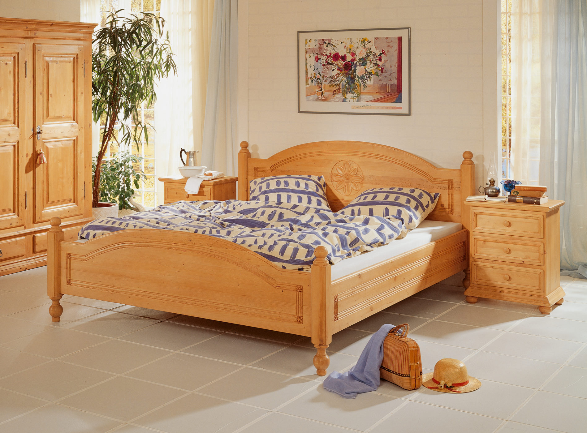 Bett Boutique Tanne Altholz Sprenger Mobel