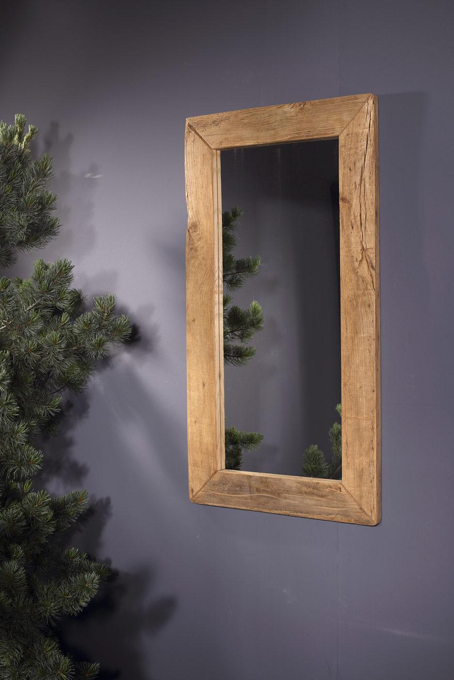 Spiegel eiche antik balkenschnitt sprenger m bel - Spiegel holzrahmen eiche ...