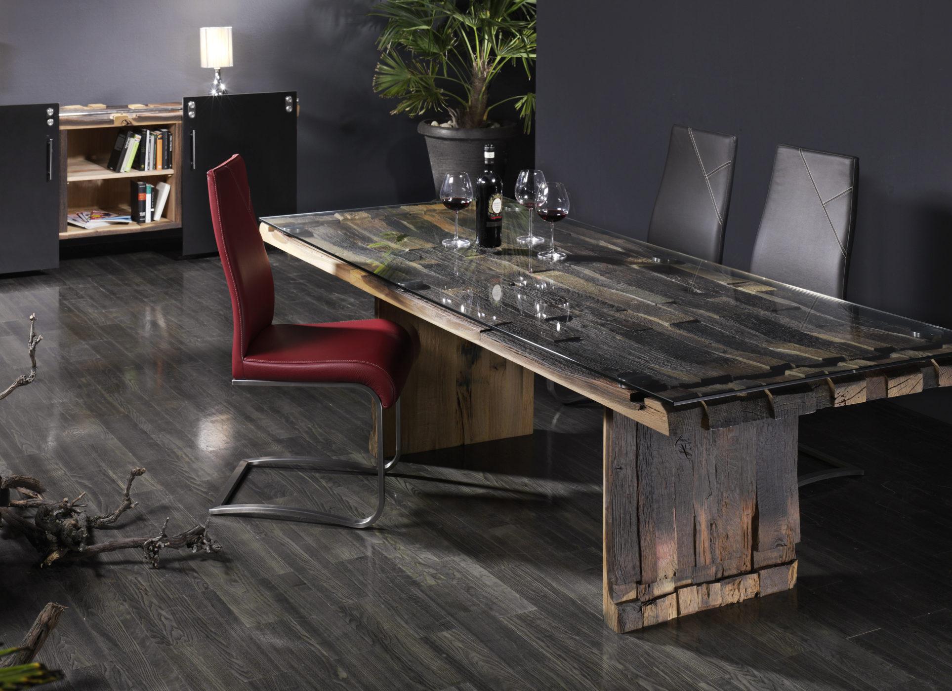 Tisch Weinfass Holz.Tisch Weinfassholz Sprenger Möbel