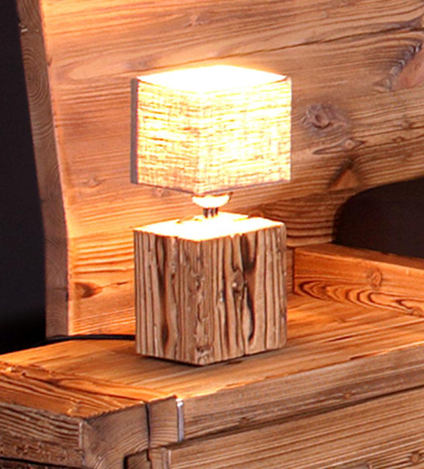 nachttischlampe tanne altholz gebrannt sprenger m bel. Black Bedroom Furniture Sets. Home Design Ideas